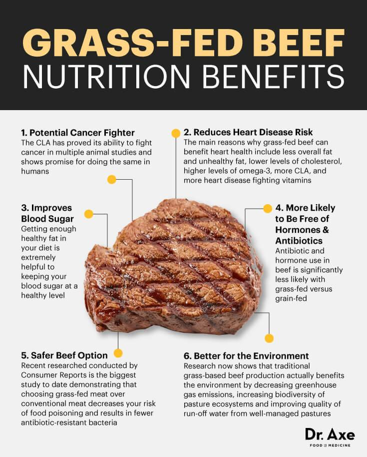 6 Grass Fed Beef Nutrition Health